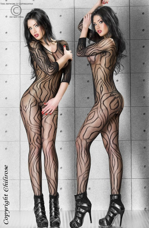 Chilirose -  CR-3237 Bodystocking - eGusti